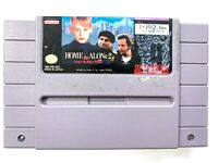 Home Alone 2 - SNES Super Nintendo Game - Tested - Working - Authentic!