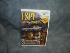 I Spy Spooky Mansion (Nintendo Wii, 2010) [Complete & Tested]