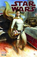 Star Wars #40 Adi Granov Trade Variant Princess Leia Carrie Fisher 2017 Marvel