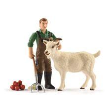 Schleich Farm World 42375 Bauer mit Ziege