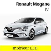 Kit complet ampoules à LED pour l'éclairage intérieur lumière Renault  Megane 4