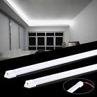 12V 2x 50cm 5630 LED High Power Strip Hard Light Bars Camping Caravan Cool White
