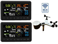 WiFi Internet App Funk Wetterstation Froggit WH3000 SE (2018) TWIN (2 Displays)