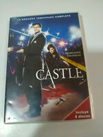 CASTLE SEGUNDA TEMPORADA 2 COMPLETA - 6 DVD + EXTRAS - ESPAÑOL ENGLISH