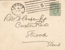 Machine Cancel Edward VII (1902-1910) British Postal History