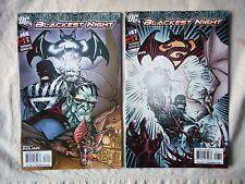 SUPERMAN BATMAN  N° 66 ET 67 + BLACKEST NIGHT 0 VO ETAT NEUF / NEAR MINT / MINT