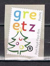 Nederland Port betaald 42c Greetz met PostNl-logo  Kerstuitvoering 2014 uitgave