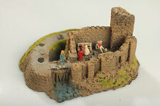 H0 Castle Ruins with People Defects/Dirt