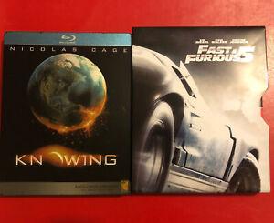 Fast & Furious 5 + Knowing Blu-Ray Steelbook