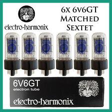 New 6x Electro Harmonix 6V6GT / 6V6 | Matched Sextet / Six Tubes | EH | FreeShip