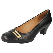 Clarks Leather Court Shoes for Women