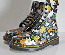 Dr. Martens AirWair Women's leather boots Pascal Darcy Floral size 6