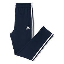 Adidas Kids Boys Running Training Pants Essentials 3 Stripes Fleece BQ2829 Gym