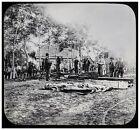 Civil War Magic Lantern Slide of Burial of the Dead for sale