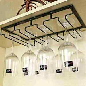 1XCreative Wine Glass Holder Kitchen Cup Holder Household Wine Cabinet Cup HOT