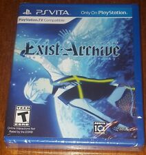 Brand new! Sealed! Exist Archive: The Other Side of the Sky Ps Vita