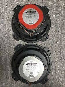 Isophon PSL 245/100/4 Tieftöner Lautsprecher 1 Paar