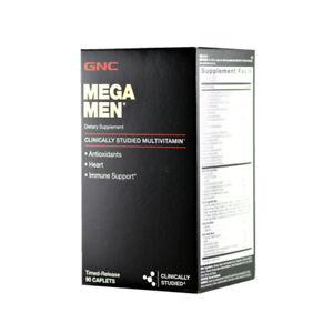 GNC MEGA MEN Multivitamin for Men 90 Caplets