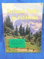 National Parks in California - Vintage Guide from 1966