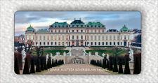"""SOUVENIR FROM VIENNA AUSTRIA SCHONBRUNN PALACE LARGE FRIDGE MAGNET 3"""" x 5""""-hjt6Z"""