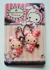 New Sentimental circus Shappo cell phone jack plugy pair San-X kawaii worldwide