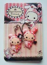 New Sentimental circus Shappo cell phone jack plugy pair San-X kawaii worldwide