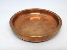 Heavy Thick Solid Copper Dish. Over 1kg.