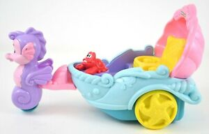 Fisher Price Little People Disney Princess Little Mermaid Ariels Coach Carriage