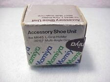 Mamiya Acessory Shoe Unit   For M645 L-grip, RB67 Multi-angle grip   New   $59  