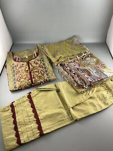 pakistani designer Gulahmad 3 Piece Lawn Suits Ramadan Sale
