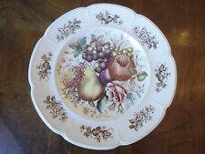"Johnson Brothers WINDSOR WARE Hand Encraving 10"" Dinner Plate, Windsor Fruit"