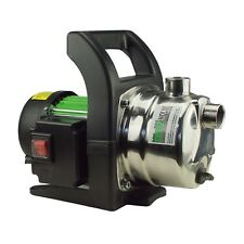 TrutzHolm® Edelstahl Gartenpumpe Jetpumpe Druckpumpe 1.000W 3.200 l/h