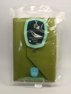 Kobo eReader Leather Case Cover Bag ex.point eReader Green NEW