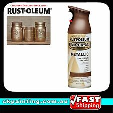 RUSTOLEUM UNIVERSAL ALL PURPOSE METALLIC SPRAY PAINT AGED COPPER