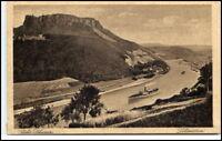 BAD SCHANDAU Sächsichse Schweiz Lilienstein AK um 1920 Postkarte Sachsen
