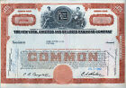 New York Chicago & St. Louis Railroad Co. Stock Certificate Nickel Plate Road