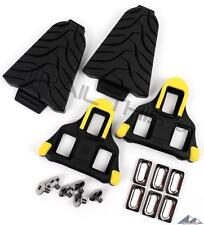 Genuine Shimano SPD-SL SM-SH11 Road Bike Cleats + SM-SH45 Cleat Covers Combo Set