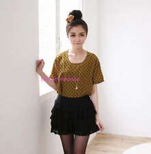 Japan Tiered Layer Mixed Lace Bloomer Slip Shorts! black