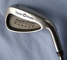 Taylor Made Burner SuperSteel 4 iron Dynalite Gold S300 steel shaft All Original