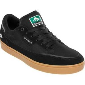 Emerica Shoes Gamma Black Gum US SIZE Skateboard Sneakers