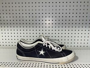 RARE VINTAGE 1990s Converse One Star Low Made in USA Mens Athletic Shoes Size 10