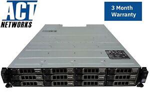Dell MD1200 12x Empty Caddies Dual I/O Controller Dual PSU Rails