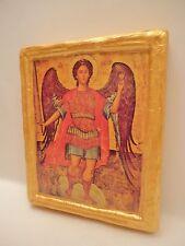 Saint Michael Archangel Rare Greek Russian Eastern Orthodox Icon Religious Art
