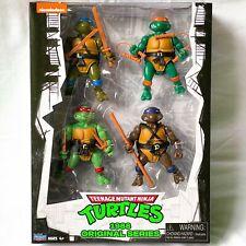TMNT Teenage Mutant Ninja Turtles 1988 Original Series Classic Figure Set MIMB