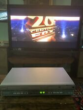 Panasonic PV-D4745S VCR / DVD Combo VHS player With remote tested & Manual