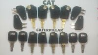 16 Master Cat Keys Caterpillar Equipment Ignition Key CAT 5P8500 Paver Roller