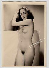 #551 RÖSSLER AKTFOTO / NUDE WOMAN STUDY * Vintage 1950s Studio Photo - no PC !
