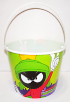 Vintage Looney Tunes Marvin the Martian Plastic Bucket w/ handle Warner Brothers