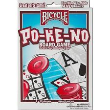 The Original Pokeno White Card Game by Bicycle - Po-Ke-No - Australia only