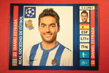 PANINI CHAMPIONS LEAGUE 2013/14 N. 75 ESTRADA REAL SOCIEDAD BLACK BACK MINT!
